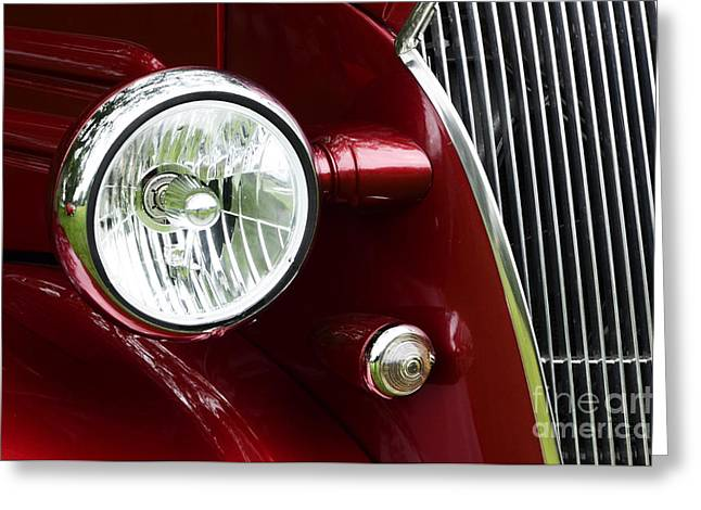 Old Trucks Greeting Cards - Hot Rod Beauty Of Design 4 Greeting Card by Bob Christopher