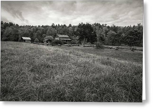 Original Photographs Greeting Cards - House in Decline Greeting Card by Jon Glaser