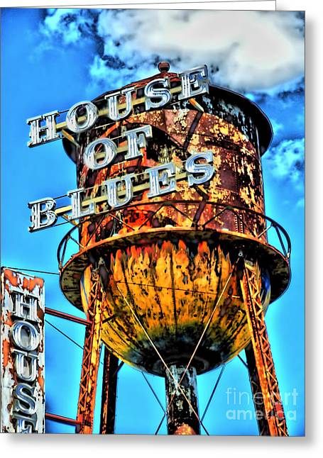 Cobb Greeting Cards - House of Blues Orlando Greeting Card by Corky Willis Atlanta Photography