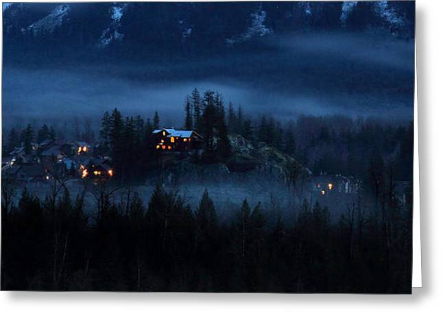 House on haunted hill Pemberton Greeting Card by Pierre Leclerc Photography