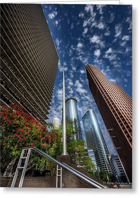 Dynamos Greeting Cards - Houston Downton 3 Greeting Card by Kamil Zelezik