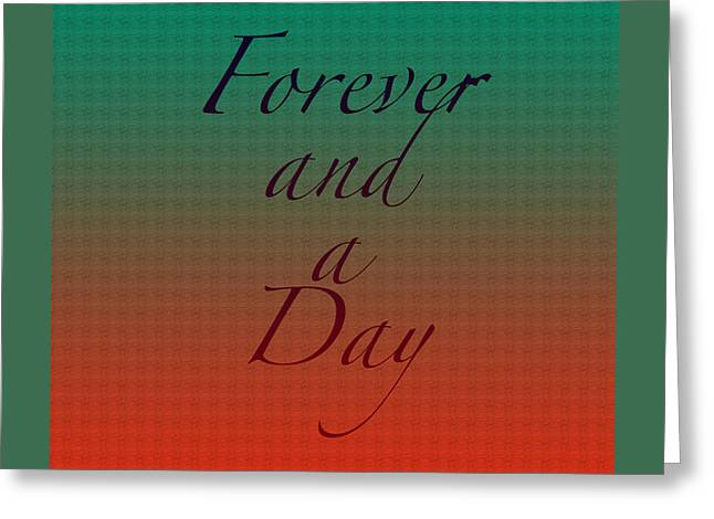 Condolences Greeting Cards - How Long Ill Love You Greeting Card by Bonnie Bruno