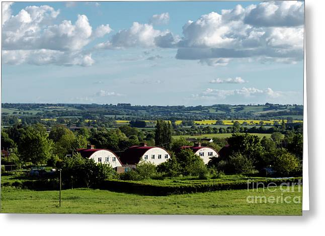 Howell Hill, West Camel, Somerset Greeting Card by Terri Waters