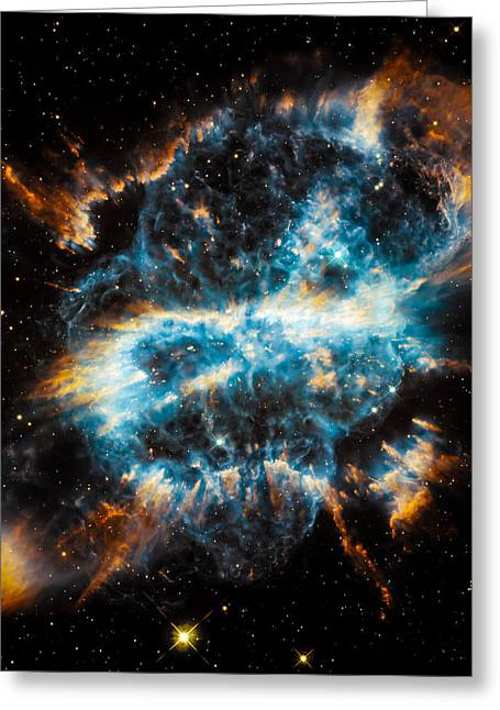 Space Greeting Cards - Hubble snaps NGC 5189 Greeting Card by Space Art Pictures