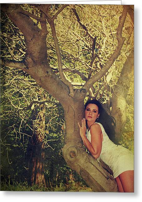 Outdoor Portrait Greeting Cards - Humanize Greeting Card by Laurie Search