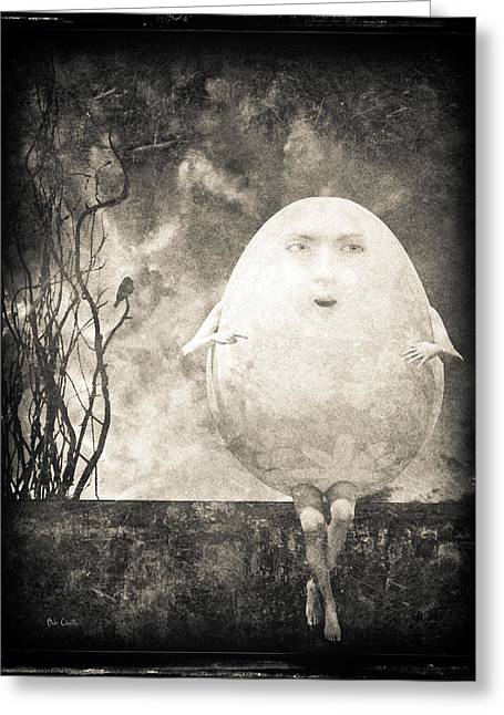 Humpty Dumpty Greeting Cards - Humpty Dumpty Greeting Card by Bob Orsillo