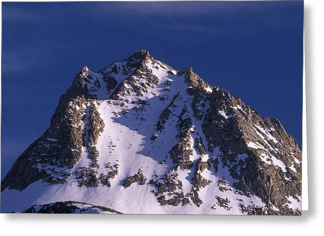 Hurd Peak  Greeting Card by Soli Deo Gloria Wilderness And Wildlife Photography
