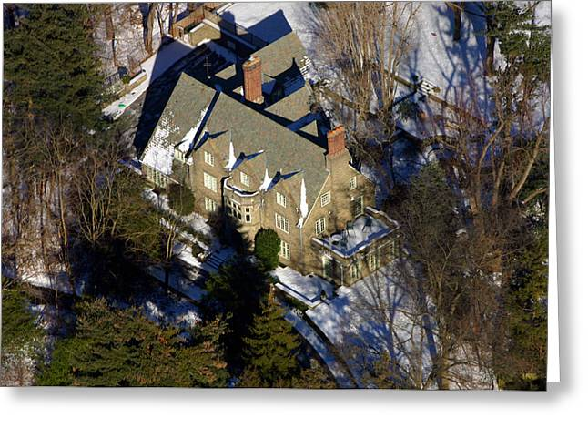 Mt. Airy Greeting Cards - Huron Lane Philadelphia PA 19119 Greeting Card by Duncan Pearson