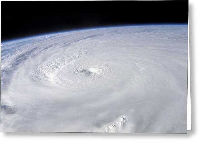 Destructive Greeting Cards - Hurricane Ivan Greeting Card by Nasa
