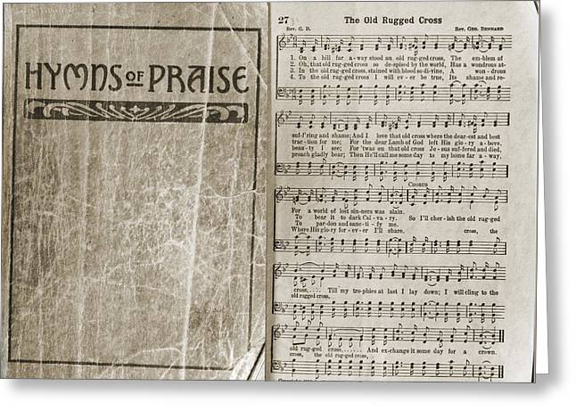 Hymns Of Praise Greeting Card by Tikvah's Hope