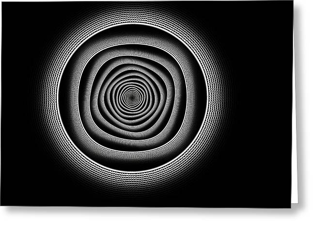 Hypnotic Abstract Greeting Cards - Hypnotic Tango Greeting Card by Stefan Kuhn