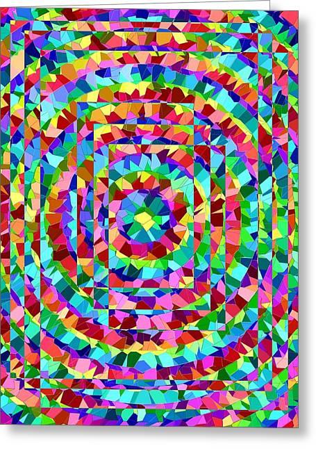 Hypnotic Greeting Cards - Hypnotic Greeting Card by Tim Allen