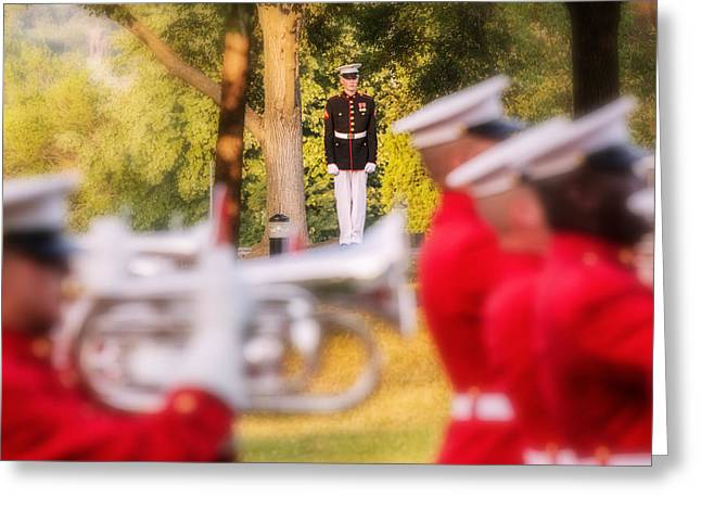 Marching Band Greeting Cards - I 1 Greeting Card by ART Card Studio