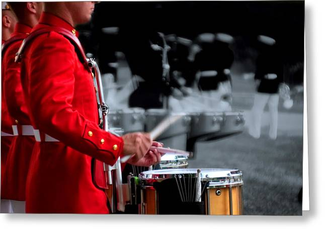 Marching Band Greeting Cards - I 12 Greeting Card by ART Card Studio
