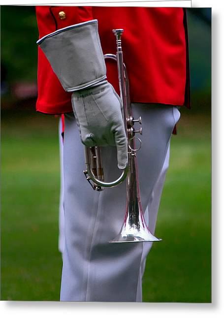 Marching Band Greeting Cards - I 26 Greeting Card by ART Card Studio