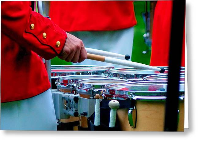 Marching Band Greeting Cards - I 33 Greeting Card by ART Card Studio