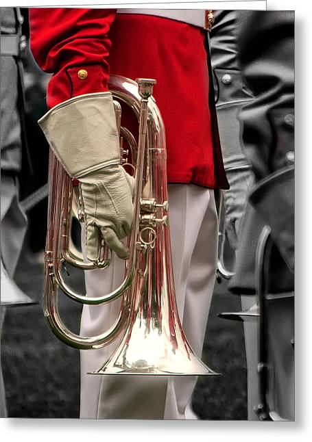 Marching Band Greeting Cards - I 40 Greeting Card by ART Card Studio