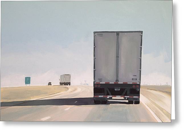 I-55 North 9am Greeting Card by Jeffrey Bess