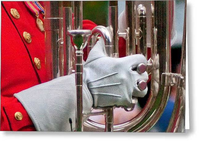 Marching Band Greeting Cards - I 56 Greeting Card by ART Card Studio
