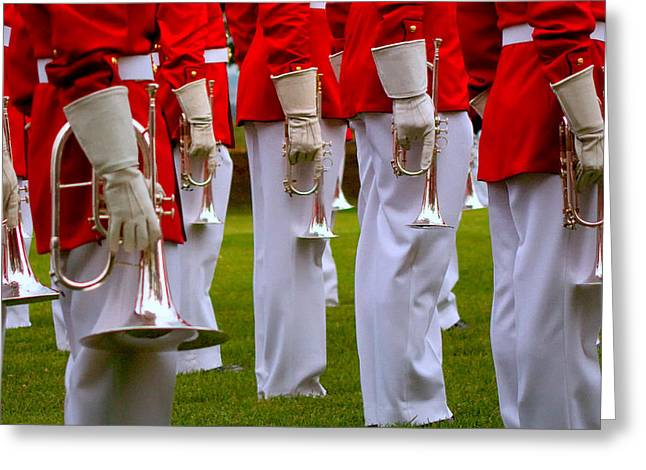 Marching Band Greeting Cards - I 60 Greeting Card by ART Card Studio