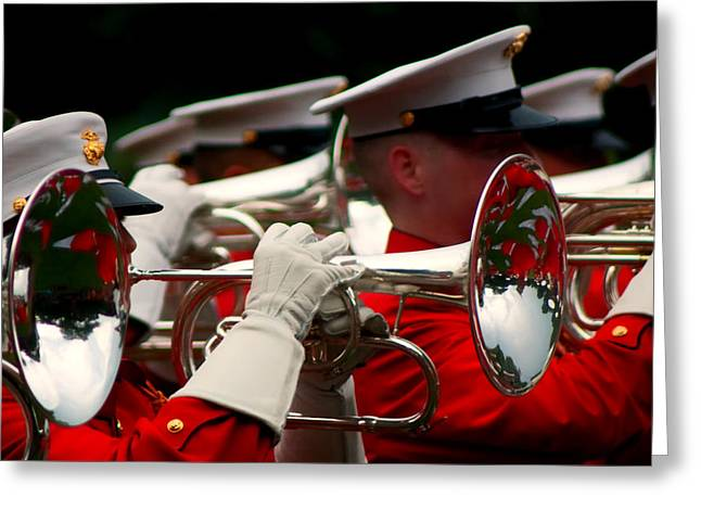 Marching Band Greeting Cards - I 8 Greeting Card by ART Card Studio