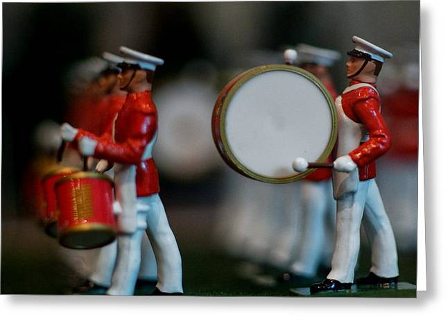 Marching Band Greeting Cards - I 99 Greeting Card by ART Card Studio