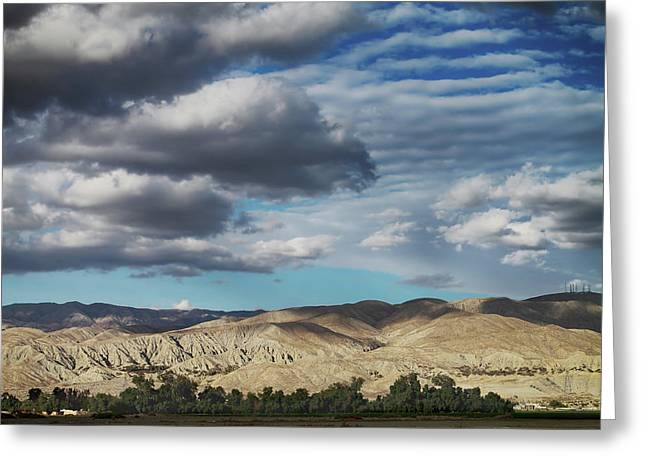 I Almost Touched The Clouds Greeting Card by Laurie Search