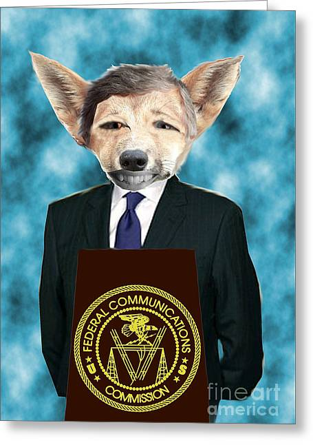 Fed Digital Art Greeting Cards - I Am Not A Dingo Greeting Card by Andrew Kaupe