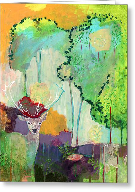 I Am The Meadow In The Forest Greeting Card by Jennifer Lommers