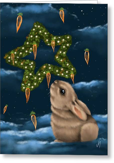I Can Smell The Christmas In The Air Greeting Card by Veronica Minozzi