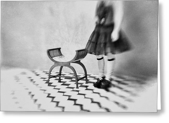 Lensbaby Greeting Cards - I Cant Go Back To Yesterday Because I Was A Different Person Then Greeting Card by Mel Brackstone