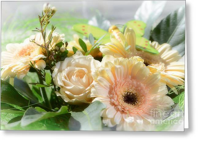 Fragrant Greeting Cards - flowers I Greeting Card by SK Pfphotography
