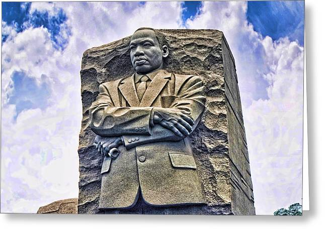Civil Rights Greeting Cards - I have a dream Greeting Card by Brenda Kean