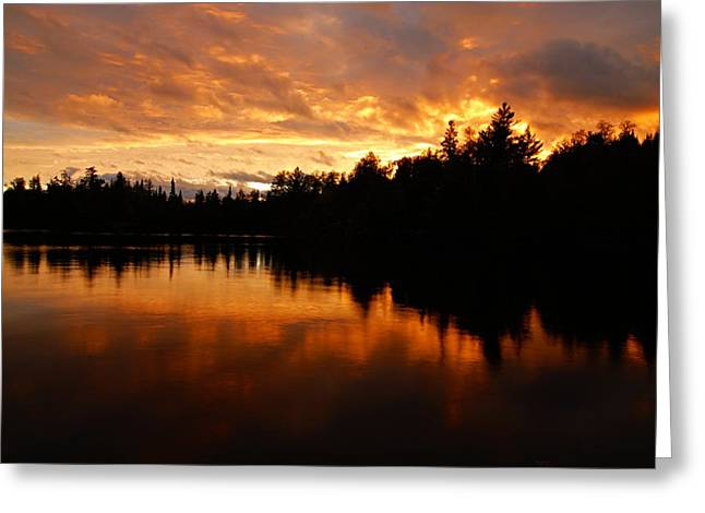 Boundary Waters Greeting Cards - I Have Seen Stormy Days That I Thought Would Never End Greeting Card by Larry Ricker
