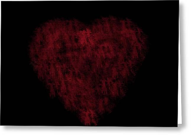 I Heart You Greeting Card by Rhonda Barrett