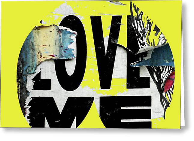 I love me Greeting Card by adSpice Studios