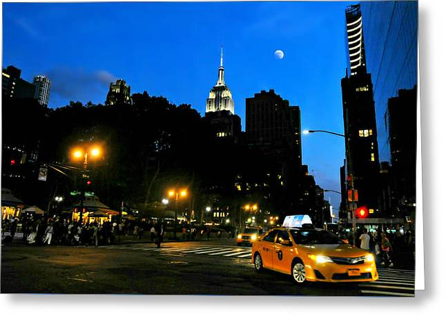 Bryant Park Greeting Cards - I Love New York City Greeting Card by Diana Angstadt