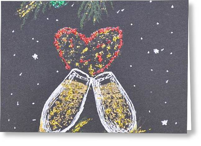 I Love You Greeting Card by Georgeta  Blanaru