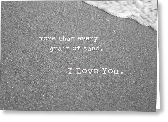 Best Sellers -  - Daughter Gift Greeting Cards - I Love You Greeting Card by Rheann Earnest