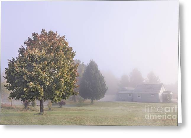 Rural House Greeting Cards - I Scent The Morning Air Greeting Card by Evelina Kremsdorf