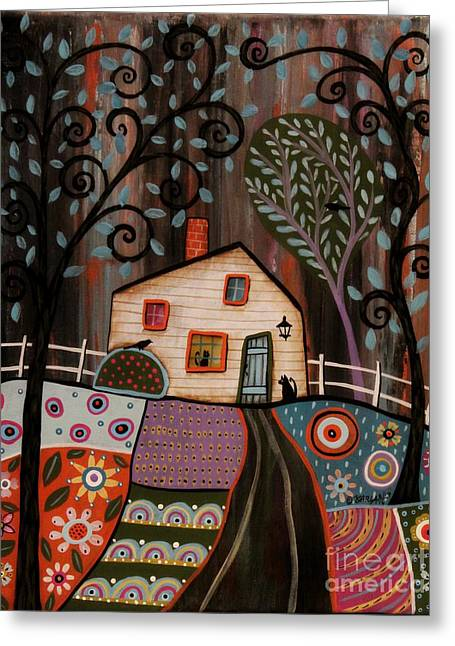 I See You Greeting Card by Karla Gerard