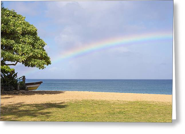I Want To Be There Too - North Shore Oahu Hawaii Greeting Card by Brian Harig