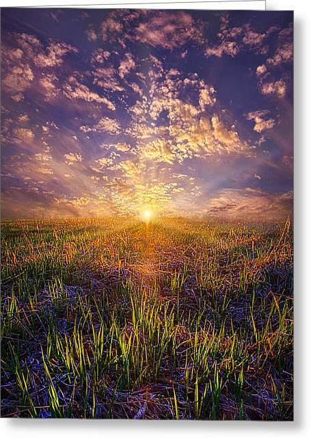 Life Line Greeting Cards - I Wish I May I Wish I Migh Greeting Card by Phil Koch