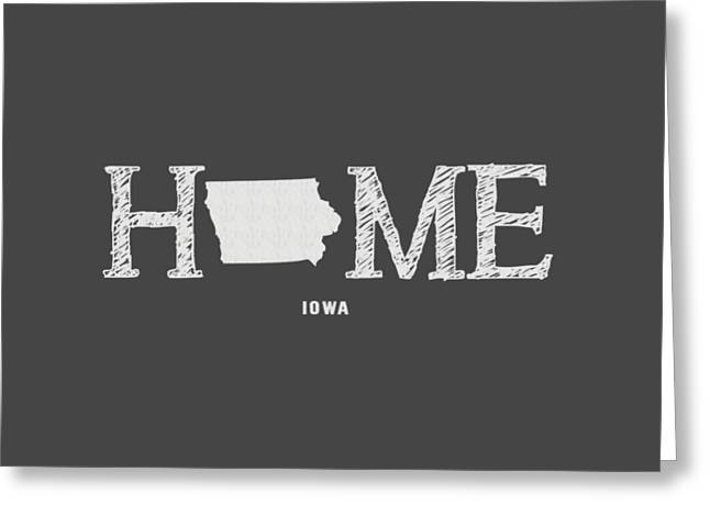 Ia Home Greeting Card by Nancy Ingersoll
