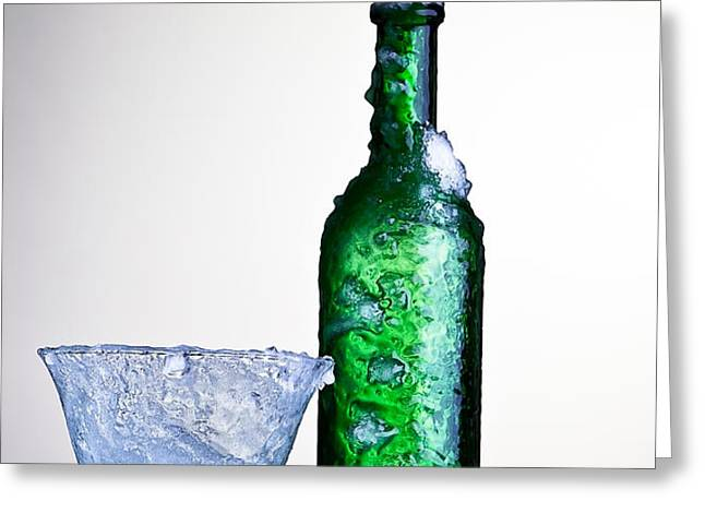 ice cold drink Greeting Card by Dirk Ercken