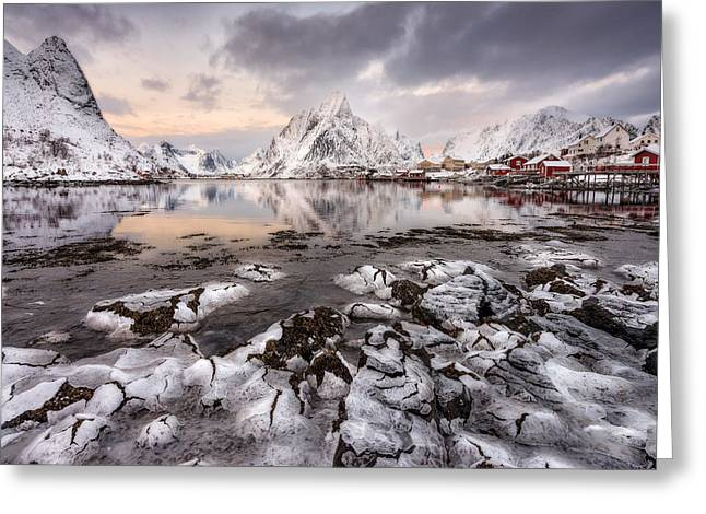 Www Greeting Cards - Ice Craking Greeting Card by David Martin Castan