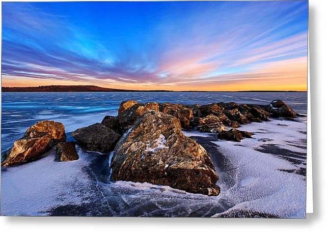 Icebound 2 Greeting Card by Bill Caldwell -        ABeautifulSky Photography