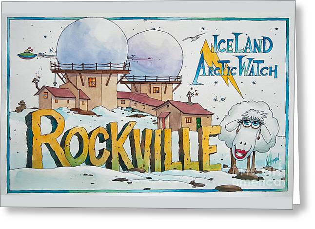 Rockville Greeting Cards - Iceland Arctic Watch Greeting Card by James Williamson