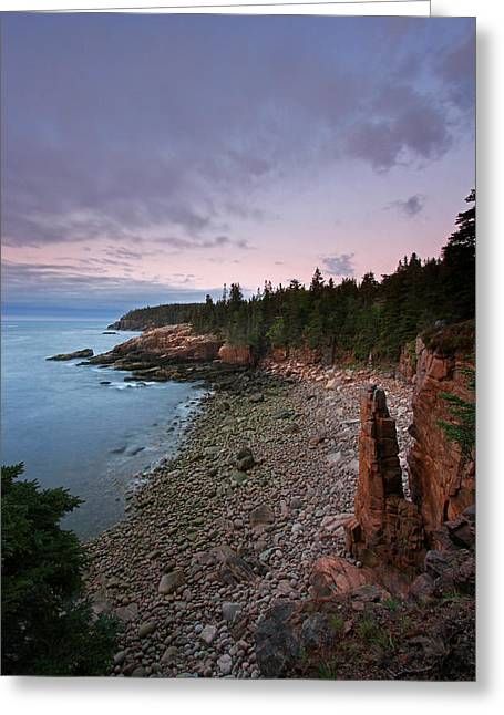 Coastal Maine Greeting Cards - Iconic Acadia Greeting Card by Juergen Roth