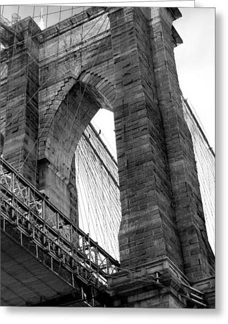Manhattan Greeting Cards - Iconic Arches Greeting Card by Az Jackson